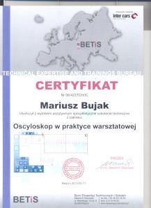 certyfikat techniczny