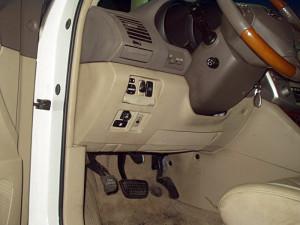 przełącznik gazu w Lexusie 330