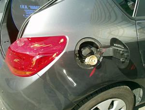 Opel Astra J - wlew paliwa