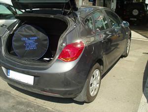Opel Astra J - bagażnik