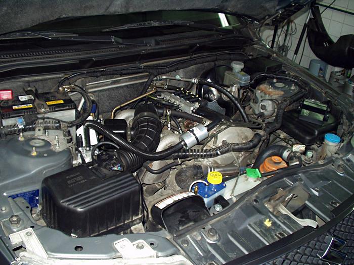 Silnik z gazem w Suzuki Vitara