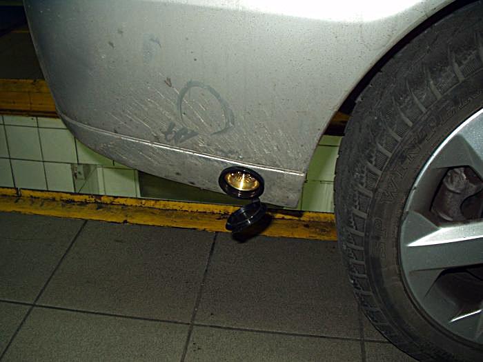 Wlew gazu w Opel Astra Bertone