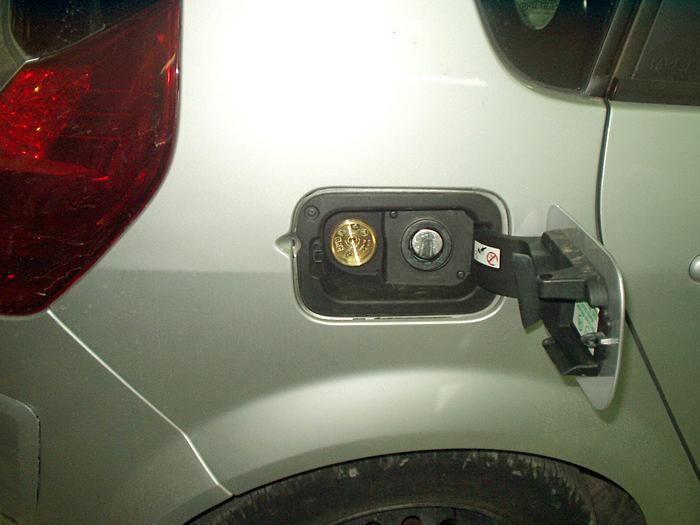 Wlew paliwa w Renault Scenic
