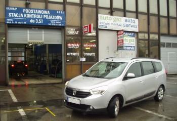 Instalacja gazowa Dacia Lodgy