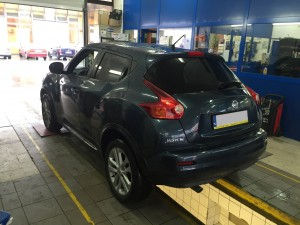 Tył Nissana Juke