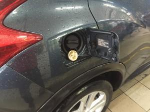 Nissan Juke wlew gazu LPG