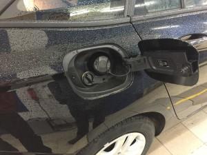 Opel Astra wlew gazu LPG