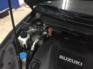 Suzuki Kizashi wtryski lpg