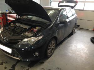 Toyota Auris instalacja gazowa