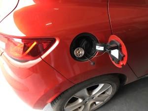 Renault Clio wlew gazu