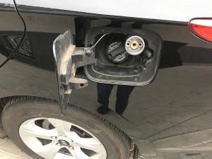 Hyundai i40 wlew gazu