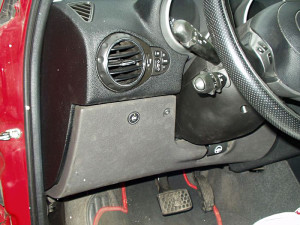 przełącznik gazowy w Alfa Romeo 147 po instalacji LPG