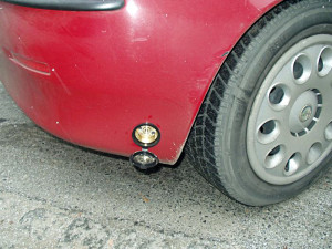 wlew paliwa w Alfa Romeo 147 po instalacji LPG