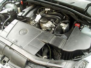 Silnik BMW 320 i po montażu gazu do samochodu