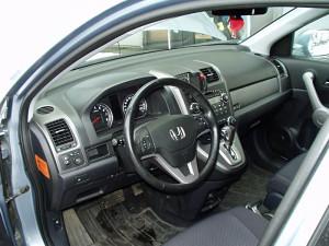 Honda CRV - widok na przełącznik gazu po instalacji LPG