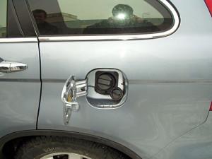 wlew paliwa w Hondzie z LPG