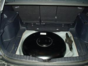 pojemnik LPG w Hondzie CRV