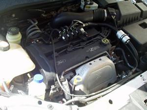 silnik w Fordzie Focus po instalacji gazowej
