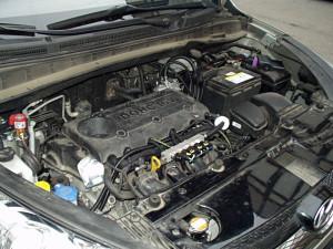 silnik w hyundai ix35 po instalacji gazowej