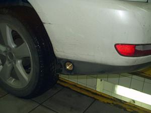 wlew paliwa w Lexusie 330 z LPG