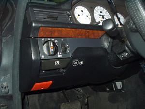 przełącznik gazu w Mercedes 500