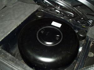 Pojemnik gazowy w Mercedesie 500