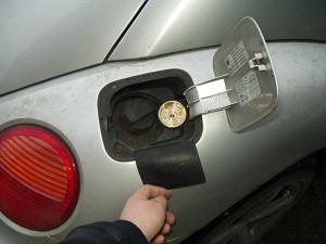 Wlew paliwa w Volkswagen New Beetle