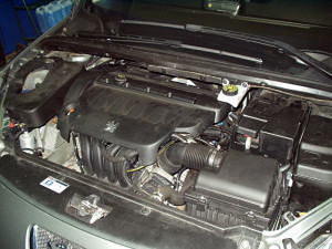 Silnik w Peugeot 307 z gazem