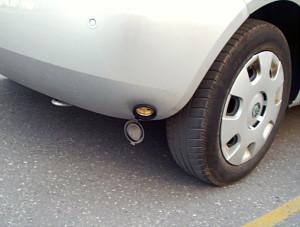 wlew paliwa w Skodzie Fabii z gazem