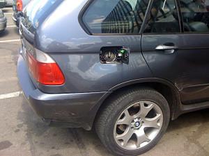 Wlew paliwa w bmw x5