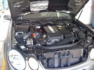 Instalacja gazowa w Mercedesie e200
