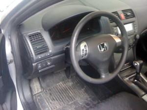 Przełącznik gazu w Honda Accord