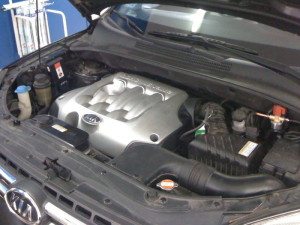 Silnik w KIA Sportage