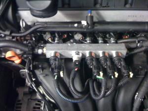 System gazowy w KIA Sportage