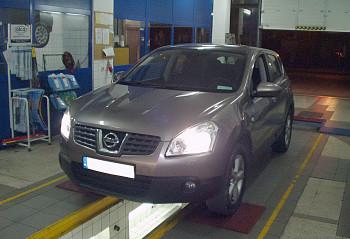 Instalacja gazu w Nissana Quashqai