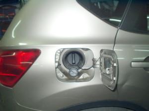 Wlew paliwa w Nissan Quashqai