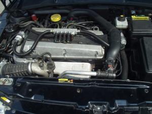 Silnik w Saab