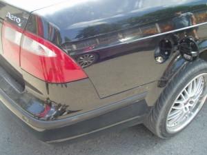 Wlew paliwa w Saab