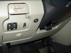Włącznik gazu w Renault Scenic