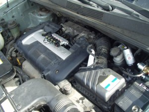 Instalacja gazowa w silniku w Hyundai Tuscon
