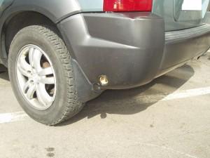 Wlew gazu w Hyundai Tuscon