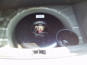Butla z gazem w Opel Vectra C