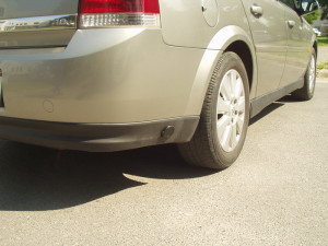 Wlew gazu w Opel Vectra C