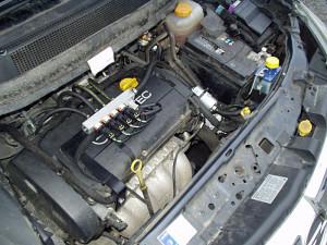 Silnik w Opel Zafira