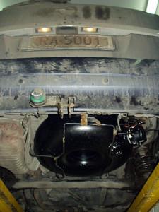 Zbiornik gazu w Opel Zafira