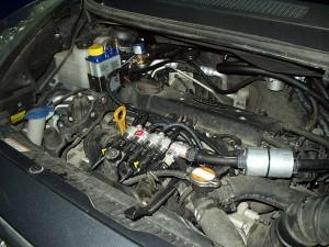 silnik w KIA Venga po instalacji gazowej