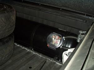 Zbiornik z gazem w Toyocie Tundra
