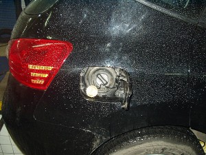 Wlew paliwa w Nissan Rogue