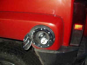 Wlew paliwa W Hummer H3