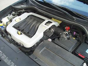 Silnik z instalacją gazową w Renault Laguna